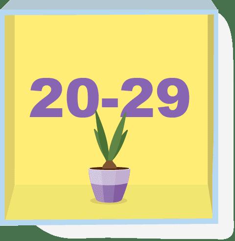 20~29歲